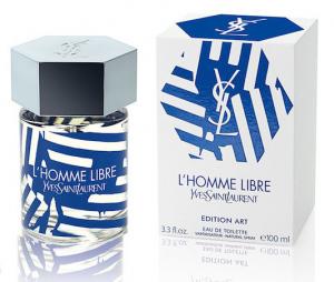 YSL L'Homme Libre Art Edition