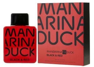 Mandarina Duck Black & Red