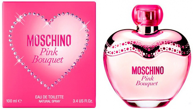 Новинка духи Pink Bouquet by Moschino